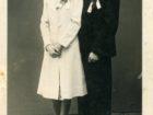 Ślub Janiny i Tadeusza Gniewków. Sokal 1942