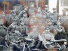 Żołnierze II Brygady Legionów - wśród nich Kazimierz i Józef Lechman