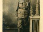Eugeniusz Dębicki podczas służby w armii austro - węgierskiej.
