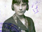 Helena Pakoszewska w okresie nauki w szkole średniej