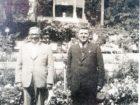 Kajetan Batiuk (po lewej) podczas pobytu w Truskawcu