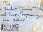Koperta listu wysłanego przez Marię Kot do męża