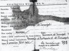 Książeczka wojskowa Wł. Cichockiego