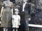 Maria i Franciszek Czachorowie z córeczką Wandą - Lwów