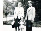 Maria i Franciszek Czachorowie z córką Wandą - Lwów