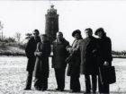 Wł. Cichocki w Kołobrzegu (drugi z prawej) w 1977 roku
