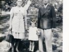 Wanda Czachor z rodzicami