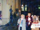 Wanda Dyhdalewicz (z d. Czachor) w Katedrze św. Jura we Lwowie - 29.05.2005 r.